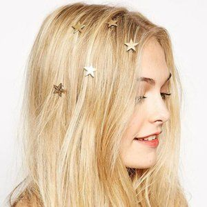 Star Spiral Hair Pins (Gold)